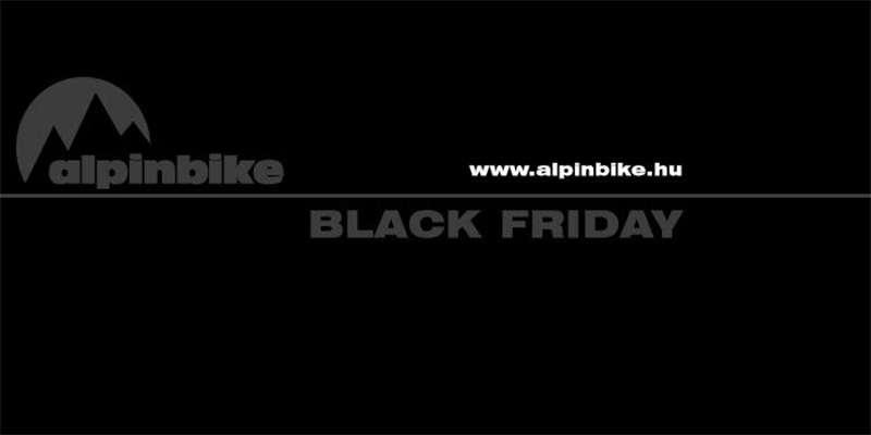 Black Friday az Alpinbike shopban!