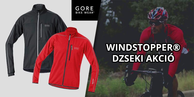 Gore Windstopper dzseki akció