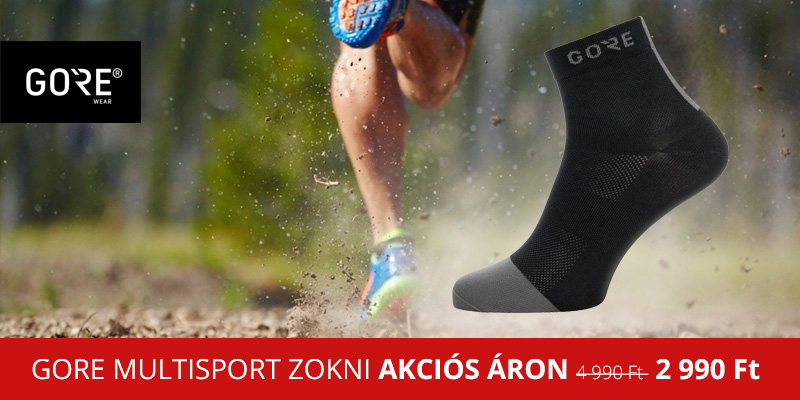 Prémium kategóriás GORE multisport zokni akciós áron