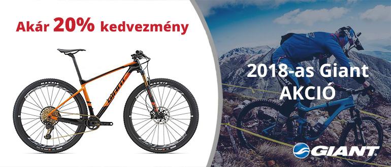 2018-as Giant kerékpár akció
