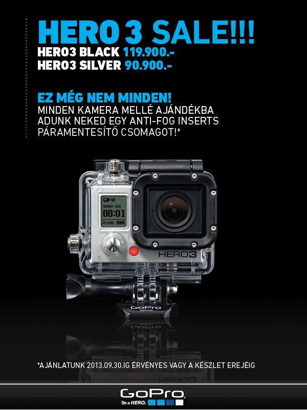 GoPro Hero3 akció