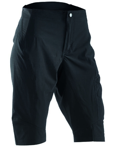 Nadrág NORTHWAVE DROP baggy fekete betétes alsónadrág nélkül!