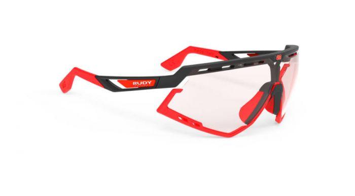RUDY PROJECT DEFENDER BLACK-RED BUMPERS/IMPACTX2 PHOTOCHROMIC RED szemüveg