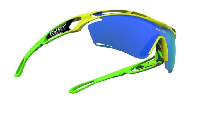 RUDY PROJECT TRALYX TEAMS-EDITION YELLOW FLUO-GREEN FLUO/MULTILASER BLUE szemüveg LIMITÁLT!