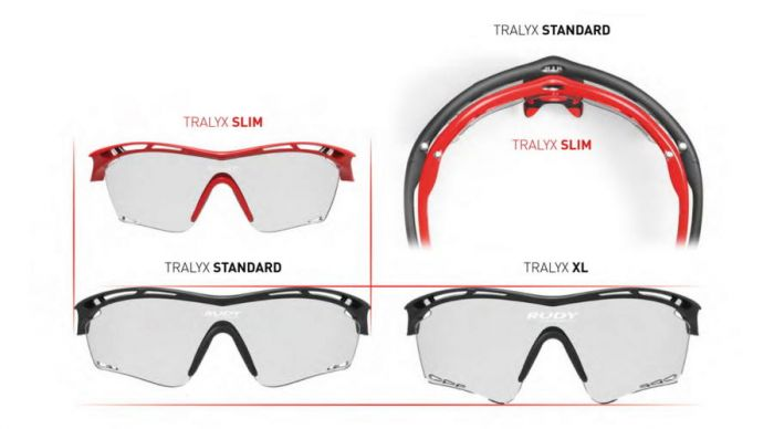 RUDY PROJECT TRALYX SLIM FIRE RED/IMPACTX2 PHOTOCHROMIC BLACK szemüveg