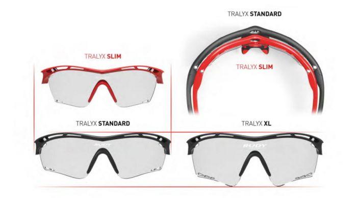 RUDY PROJECT TRALYX SLIM RUBIN/IMPACTX2 PHOTOCHROMIC LASER BLACK szemüveg