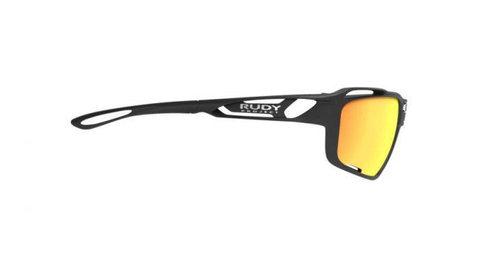 RUDY PROJECT SINTRYX BLACK/MULTILASER ORANGE szemüveg +TRANSPARENT