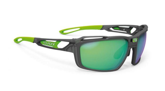 RUDY PROJECT SINTRYX ICE GRAPHITE/POLAR 3FX HDR MULTILASER GREEN szemüveg