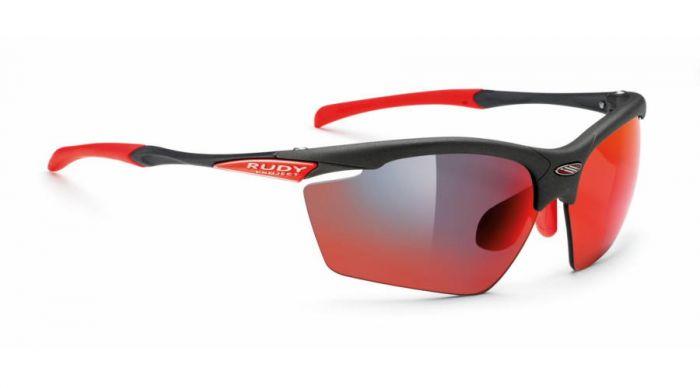 RUDY PROJECT AGON GRAPHITE/MULTILASER RED szemüveg