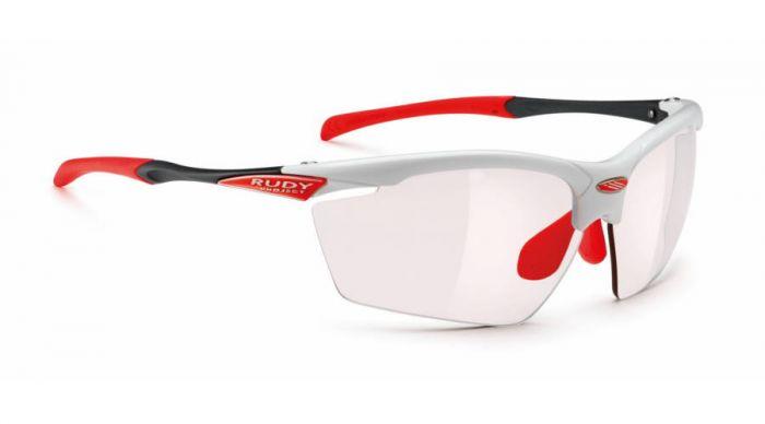 RUDY PROJECT AGON WHITE/IMPACTX2 PHOTOCHROMIC RED szemüveg