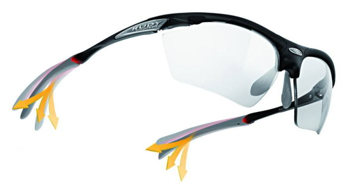 RUDY PROJECT RYDON GRAPHITE MULTICOLOR RED/MULTILASER RED szemüveg