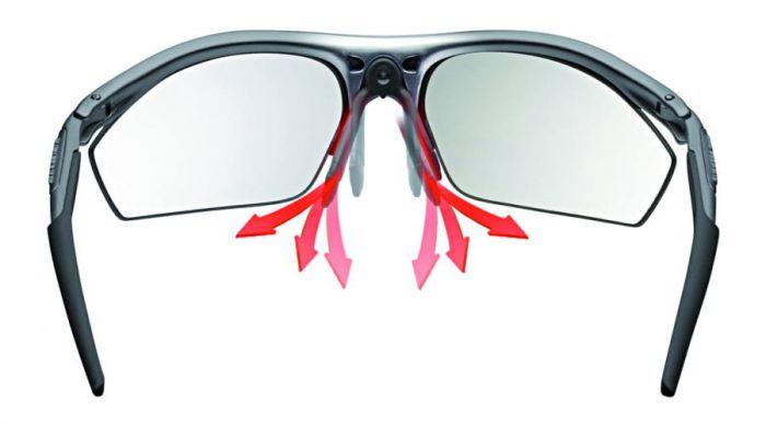RUDY PROJECT RYDON GRAPHITE/POLAR 3FX HDR MULTILASER ORANGE szemüveg