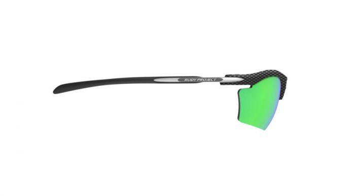 RUDY PROJECT RYDON SLIM CARBON/POLAR 3FX HDR MULTILASER GREEN szemüveg