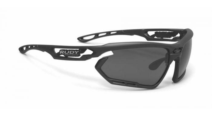 RUDY PROJECT FOTONYK BLACK-BLACK BUMPERS/SMOKE BLACK szemüveg