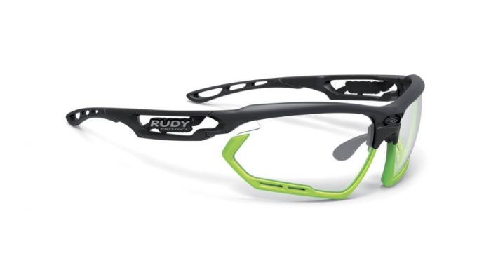 RUDY PROJECT FOTONYK BLACK-LIME BUMPERS/IMPACTX2 PHOTOCHROMIC LASER BROWN szemüveg