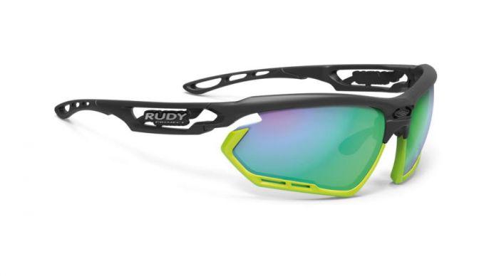 RUDY PROJECT FOTONYK BLACK-LIME BUMPERS/POLAR 3FX HDR MULTILASER GREEN szemüveg