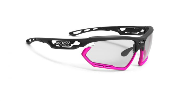 RUDY PROJECT FOTONYK BLACK-PINK FLUO BUMPERS/IMPACTX2 PHOTOCHROMIC BLACK szemüveg
