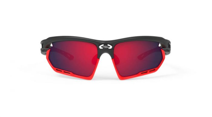 RUDY PROJECT FOTONYK BLACK-RED FLUO BUMPERS/POLAR 3FX HDR MULTILASER RED szemüveg