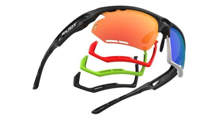 RUDY PROJECT FOTONYK CARBONIUM-BLACK BUMPERS/MULTILASER RED szemüveg