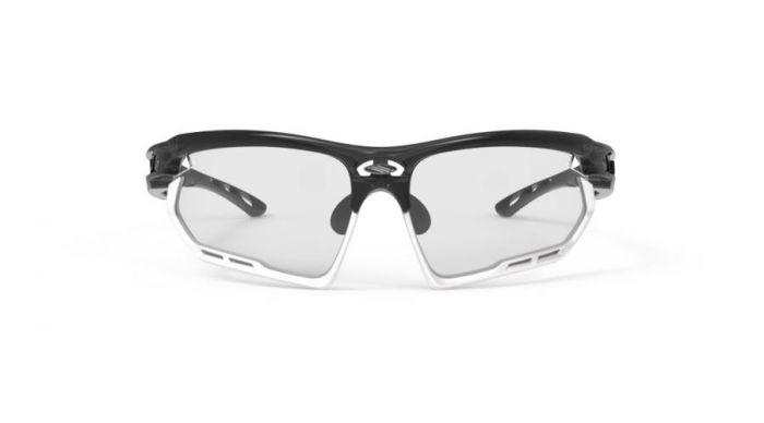 RUDY PROJECT FOTONYK CRYSTAL GRAPHITE-WHITE BUMPERS/IMPACTX2 PHOTOCHROMIC BLACK szemüveg