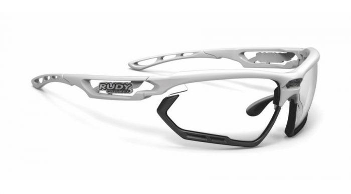 RUDY PROJECT FOTONYK WHITE-BLACK BUMPERS/IMPACTX2 PHOTOCHROMIC BLACK szemüveg