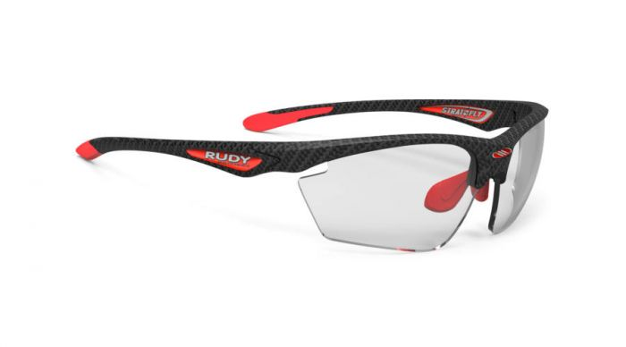 RUDY PROJECT STRATOFLY CARBONIUM-RED/IMPACTX2 PHOTOCHROMIC BLACK szemüveg