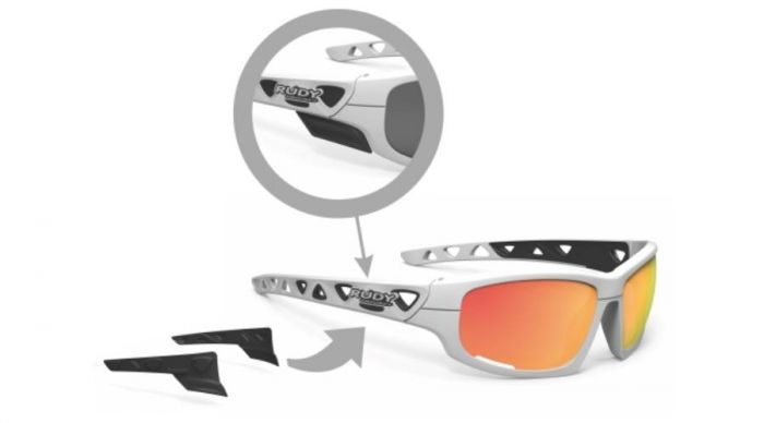 RUDY PROJECT AIRGRIP BLUE METAL/MULTILASER ICE szemüveg