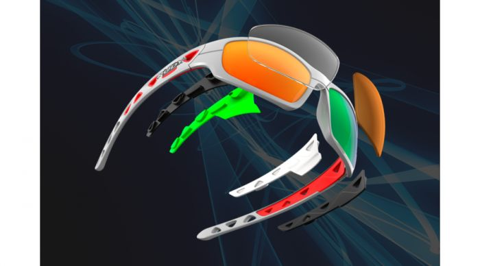 RUDY PROJECT AIRGRIP SAILING BLACK/POLAR 3FX GREY szemüveg
