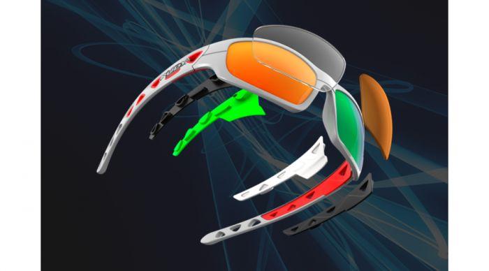 RUDY PROJECT AIRGRIP WHITE/MULTILASER ORANGE szemüveg